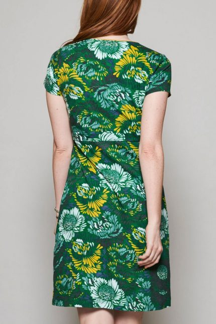Nomads Tunika Kleid Petal grün
