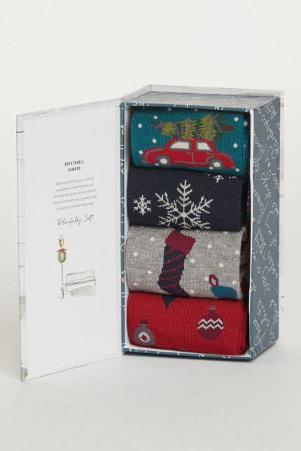 Thought Dárkové balení pánských ponožek Christmas Eve