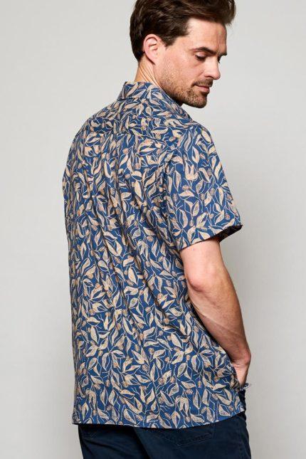 Nomads Herrenhemd mit kurzem Arm Sundowner