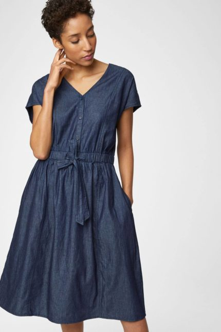 Thought Denim Kleid aus Bio-Baumwolle Camila