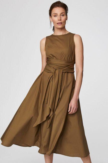 Thought Kleid aus Bio-Baumwolle Maddalena