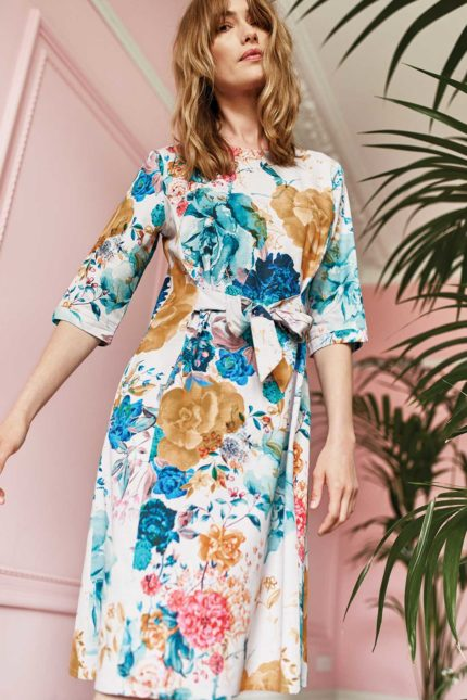Thought Tencel Kleid Giardino
