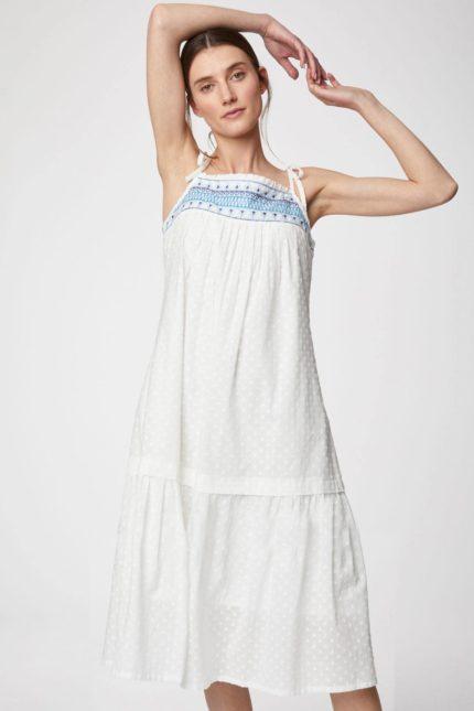 Thought Kleide aus Bio-Baumwolle Isabetta