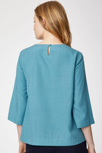 Thought Tencel Top Valentina hellblau