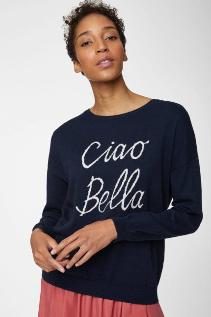 Thought Pullover mit Wolle Ciao Bella