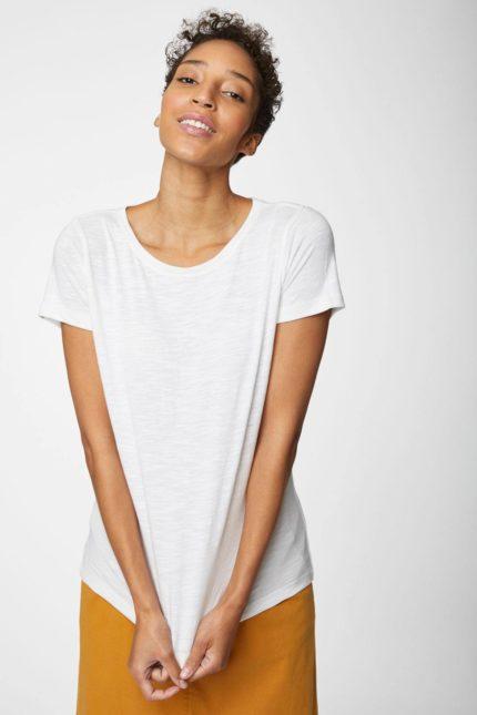 Thought T-Shirt aus Bio-Baumwolle weiß
