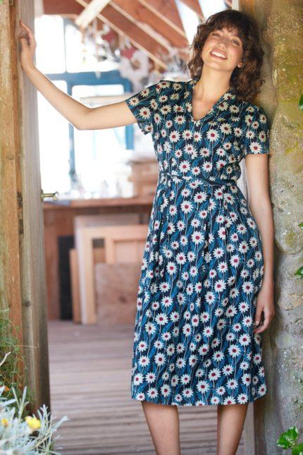 Seasalt Cornwall Dress Top Terrace Daisy