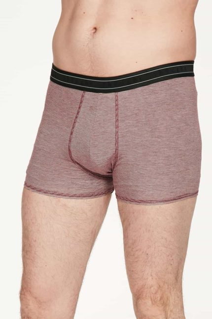 Thought Bambus Boxershorts Michael Rot