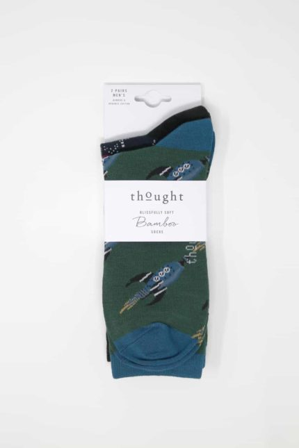 Thought Doppelpack Herren Socken Galaxy