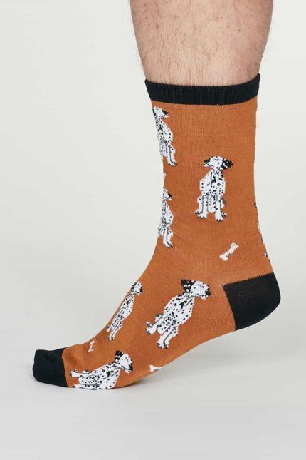 Thought Herren Bambus Socken Lyman Orange