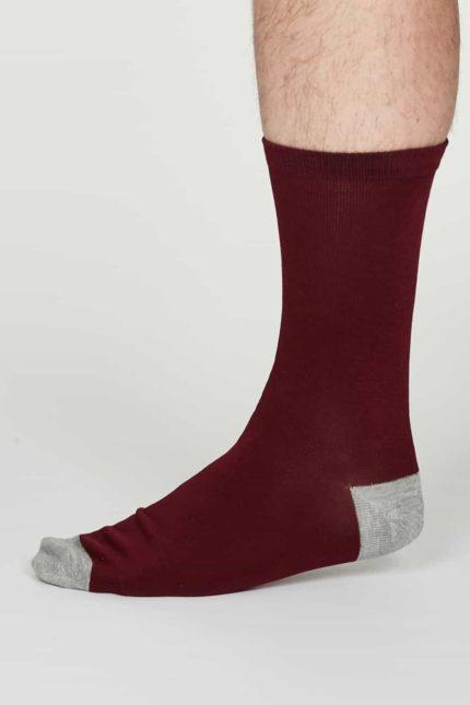 Thought Herren Bambus Socken Jack Orange