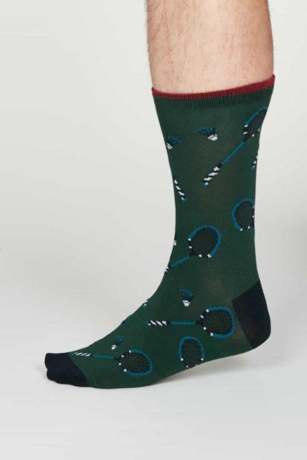 Thought Herren Bambus Socken Perry Grün