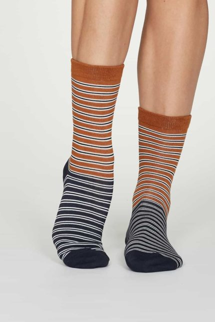 Thought Damen Bambus Socken Isabel Orange