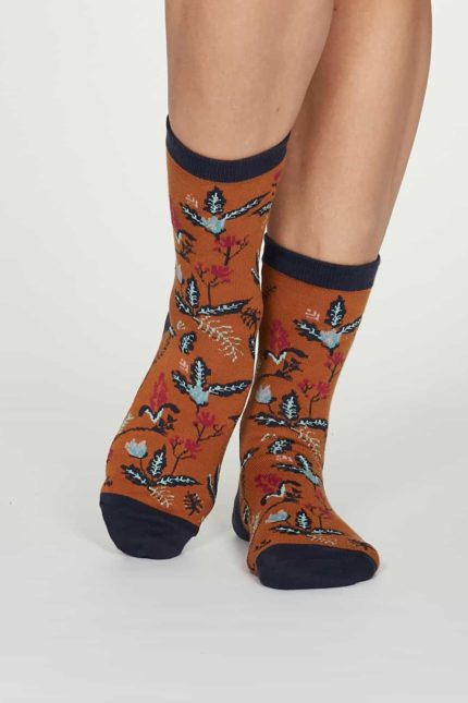 Thought Damen Bambus Socken Margery Orange