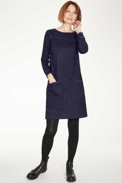 Thought Kleid aus Bio-Baumwolle Pelly