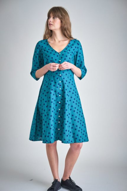Bibico Kleid Liza Emerald