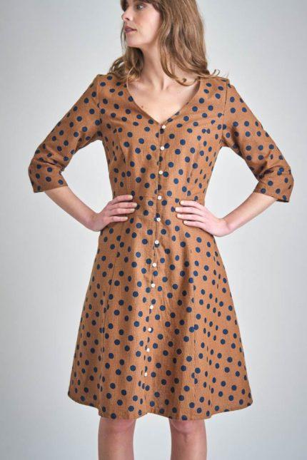 Bibico Kleid Liza Toffee