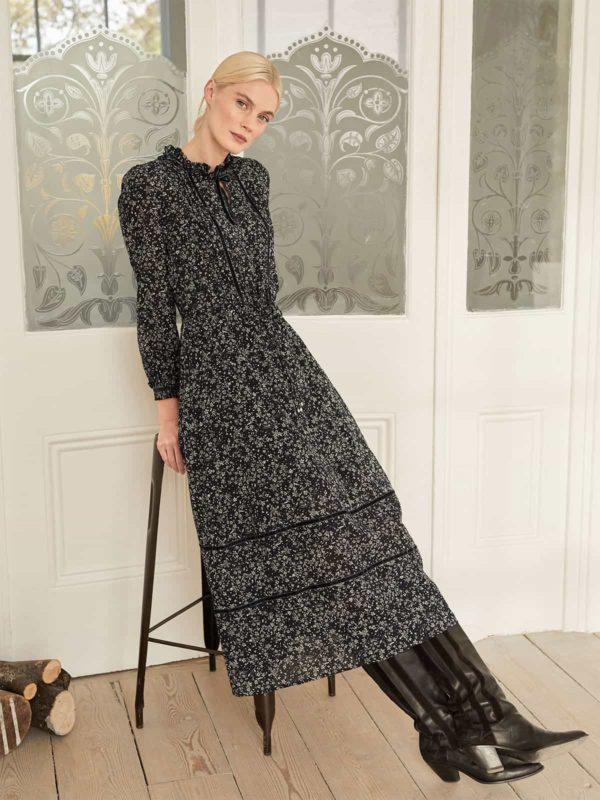 Thought Kleid aus Bio-Baumwolle Florentine