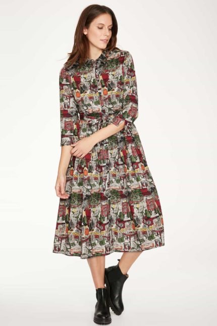 Thought Tencel Kleid Bloomsbury