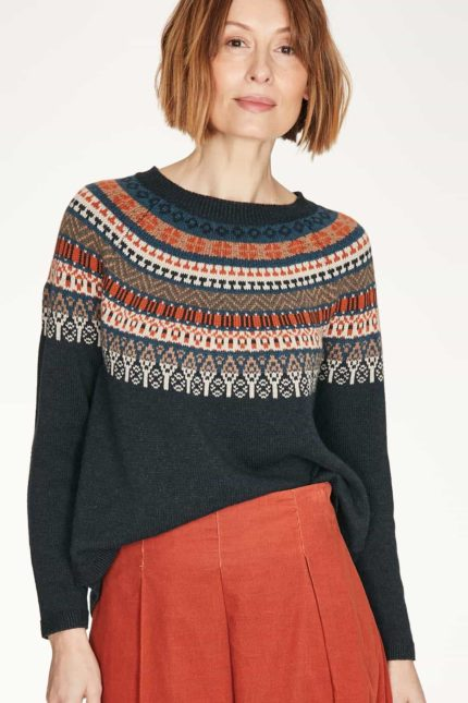 Thought Pullover mit Wolle Blair