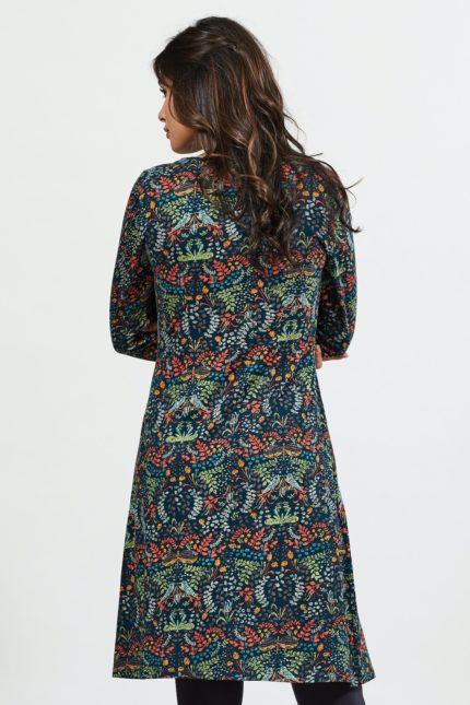 Nomads Kleid aus Bio-Baumwolle Songbird Myrtle