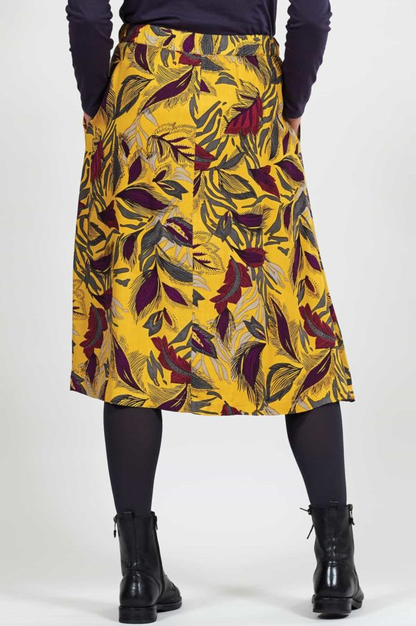 Nomads Kleid Dancing leaves Gelb