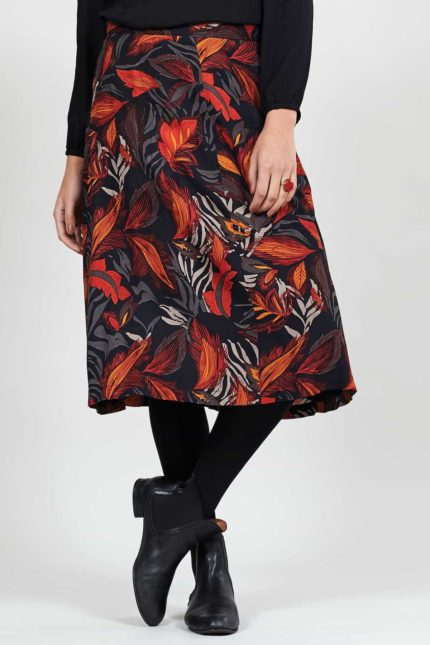 Nomads Kleid Dancing leaves Grau