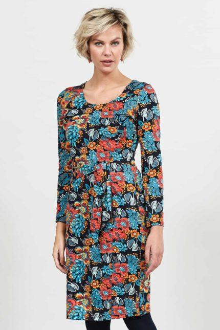 Nomads Kleid aus Bio-Baumwolle Gipsy Koi