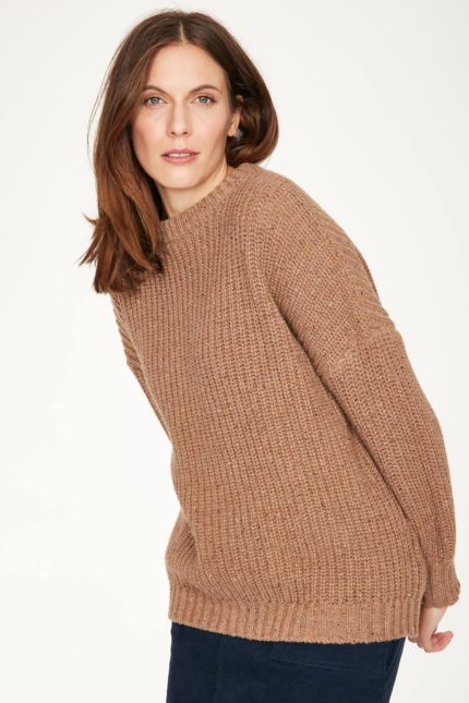 Thought Pullover mit Wolle Potto