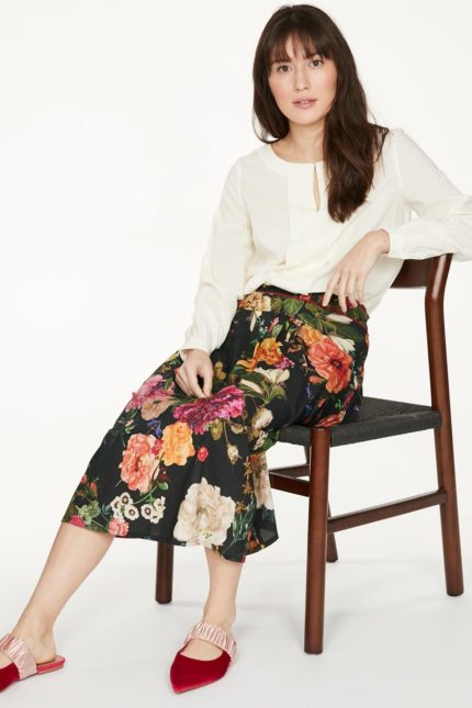 Thought Bluse mit Modal Charlotte Weiß