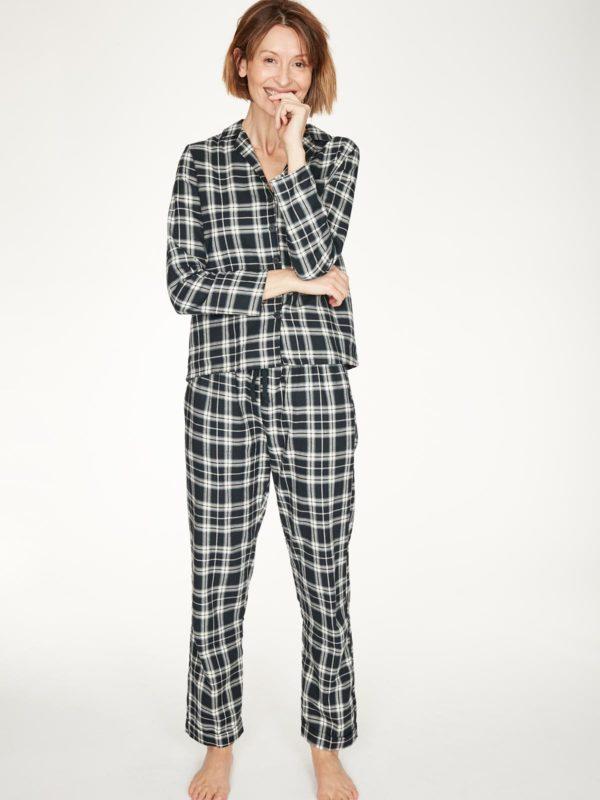Thought Pyjama Hemd aus Bio-Baumwolle Tehran