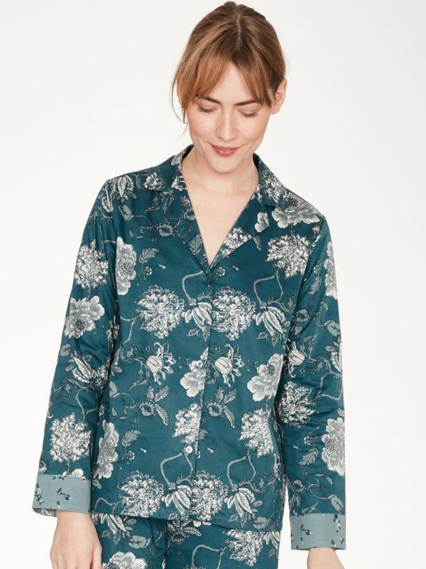 Thought Pyjama Hemd aus Bio-Baumwolle Ellis