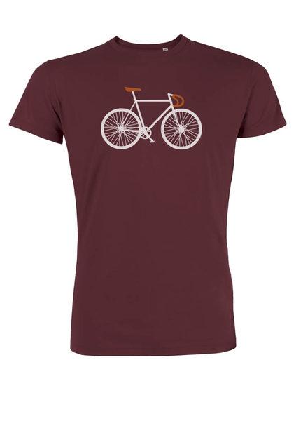 Greenbomb T-shirt Bike Two Bordeaux