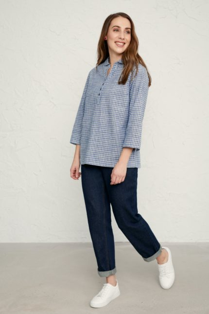Seasalt Cornwall Bluse Farsight Ecru