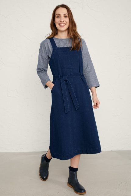 Seasalt Cornwall Kleid Lantivet Wash Indigo
