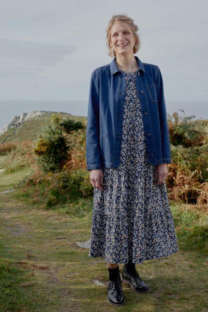 Seasalt Cornwall Kleid Line Strokes Waterline
