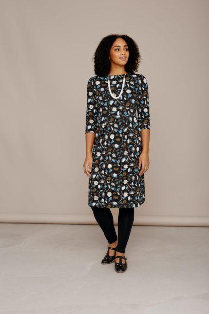 Seasalt Cornwall Kleid Tamsin Medley aus Bio-Baumwolle