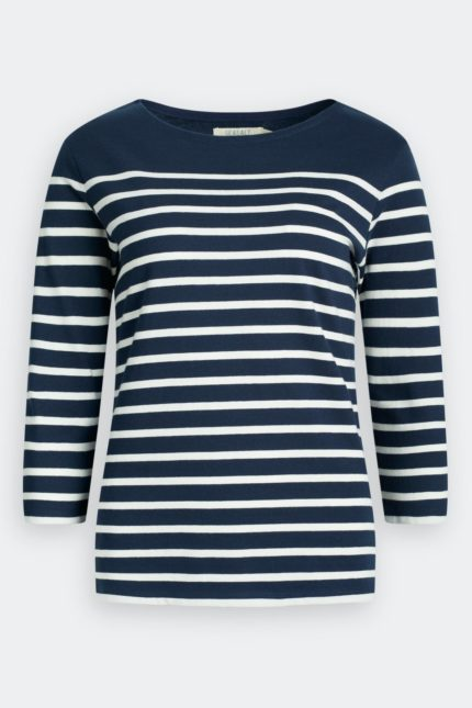 Seasalt Cornwall Top Sailor aus Bio-Baumwolle Breton Midnight