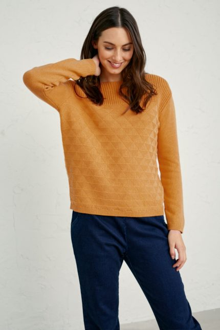 Seasalt Cornwall Pullover Harbour Beach Sunglow