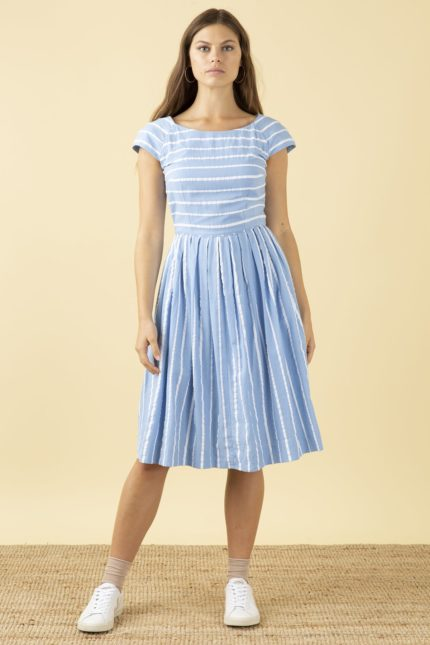 Emily and Fin Kleid Claudia Stripe