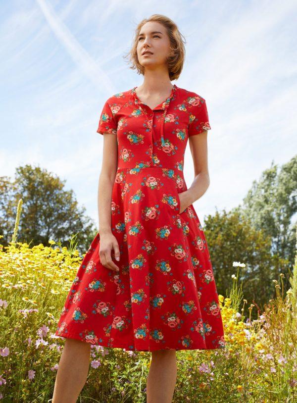 Lana Kleid Amelie aus Bio-Baumwolle