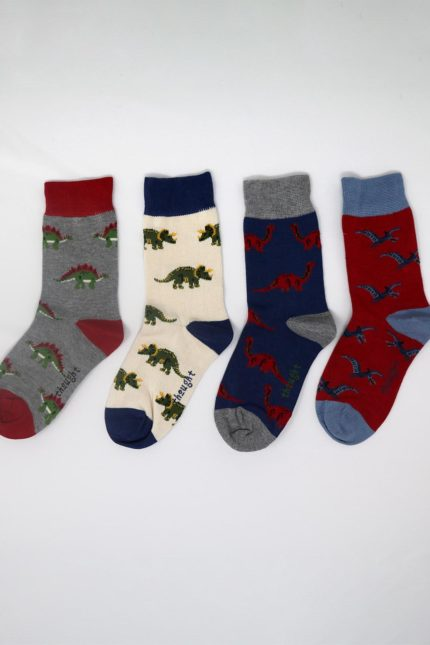 Thought Kindersocken Geschenkset Extinct kids
