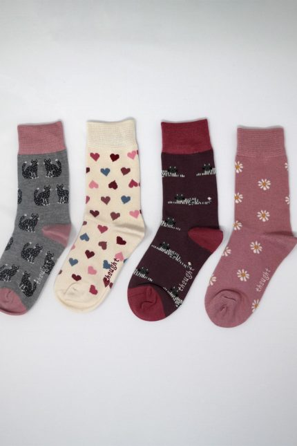 Thought Kindersocken Geschenkset Kitty kids