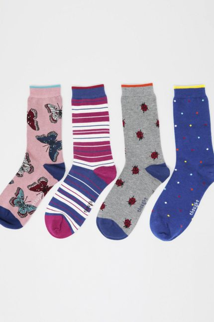 Thought Geschenkset Damensocken Ellie Wildlife