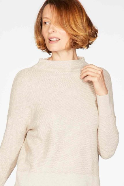 Thought Pullover Imogen mit Wolle
