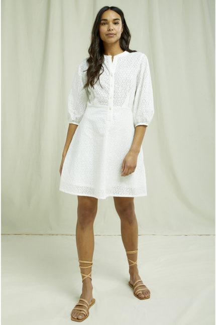 People Tree Besticktes Kleid Anita aus Bio-Baumwolle