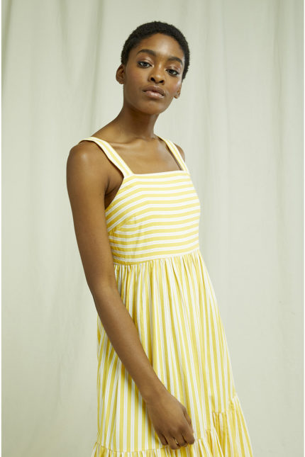 People Tree Maxi Kleid Lea aus Bio-Baumwolle