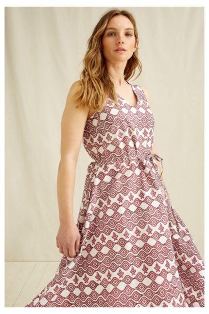 People Tree Kleid aus Bio-Baumwolle Aidy Block