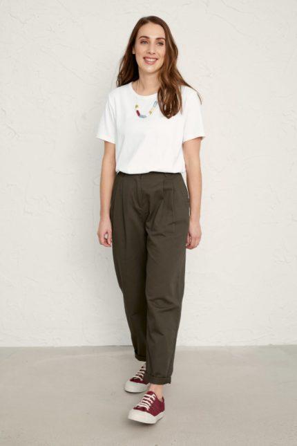 Seasalt Cornwall T-Shirt Reflection Weiß