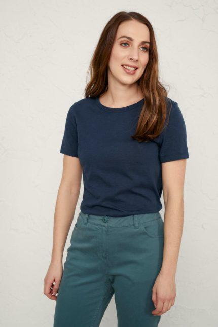 Seasalt Cornwall T-Shirt Reflection Blau